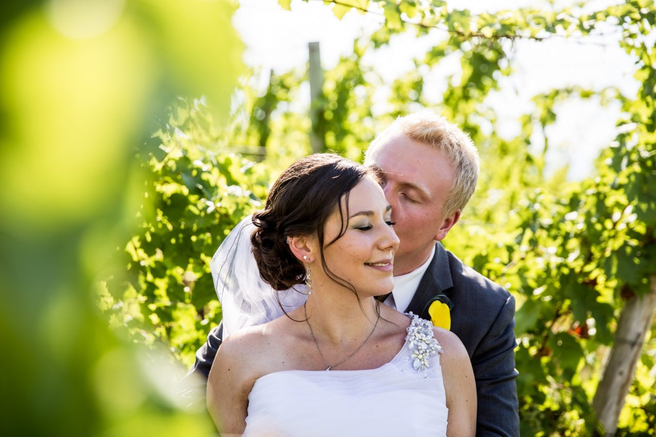 Laine and Tanner Summerhill Winery Wedding