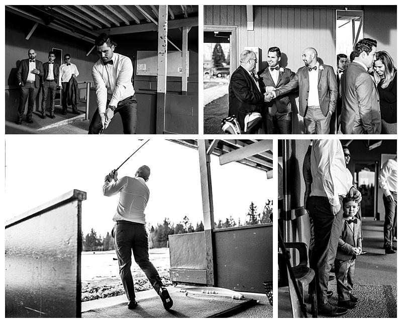 Peter and Donna Langley Golf Club Wedding | Kelowna Photographer Lori Brown
