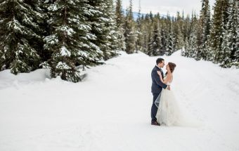Tyler and Erin Big White Ski Resort Wedding | Kelowna Photographer Lori Brown