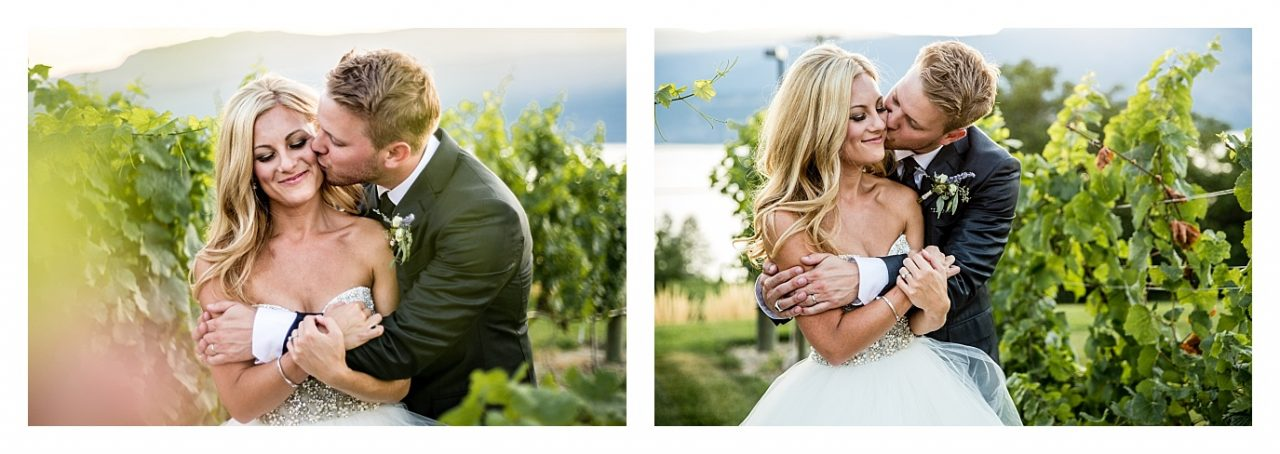 Tyler and Alex 50th Parallel Winery Wedding