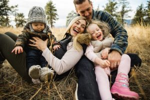 Family at Dilworth mountain park photography
