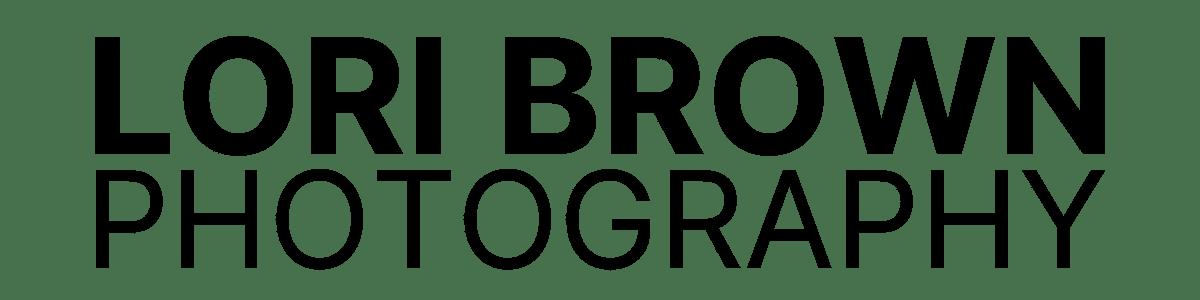 Black Lori Brown Photography Logo   Victoria BC Photographer